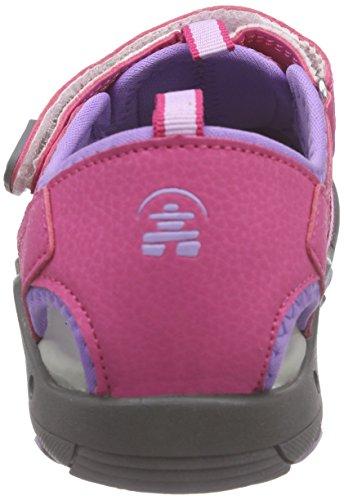 Kamik Unisex-Kinder Crab Sandalen Pink (FUCHSIA/FUS)