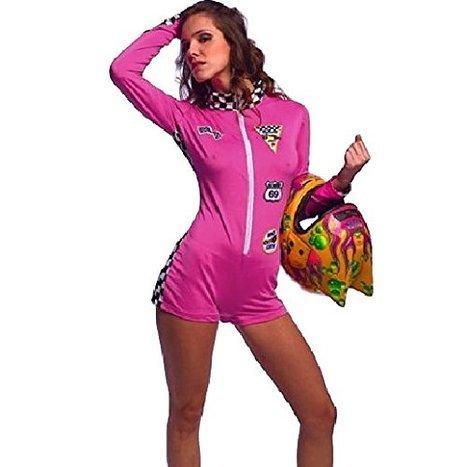 Mädchen Shorts Overall Kostüm (32-34) (Racer Mädchen Halloween Kostüme)