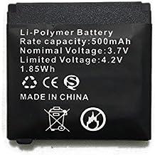 Batterie SmartWatch batterie Q18 rechargeable au lithium avec capacité 500MAH
