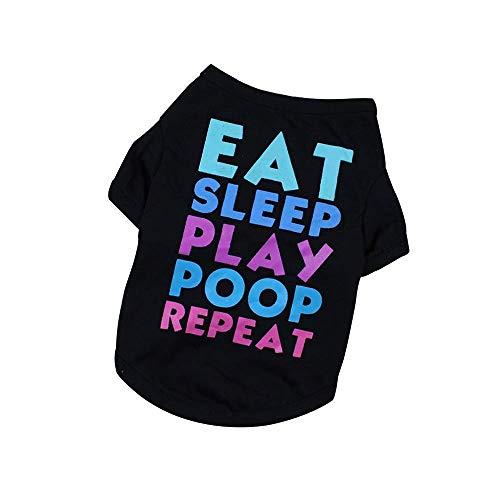 WANG Abiti for Animali, Moda Focus su Pet Dog Vestiti Knit Shirt della Maglia del Cane Morbido Cotone Cane Caldo Autunno della Molla della Maglia del Cane (Size : XL)