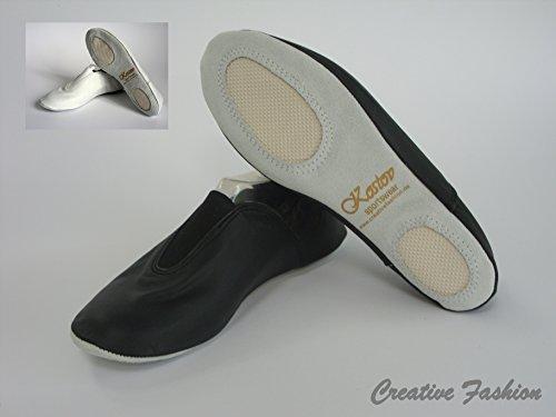 Kostov Sportswear Gymnastikschläppchen Wolke, Schwarz Größe 36