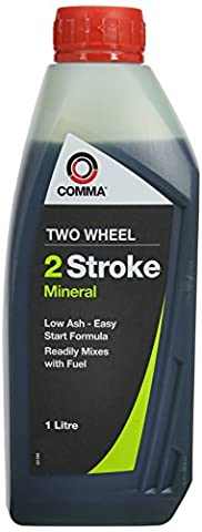 Comma TST1L 1L Two Wheel 2-Stroke Mineral Motor Oil