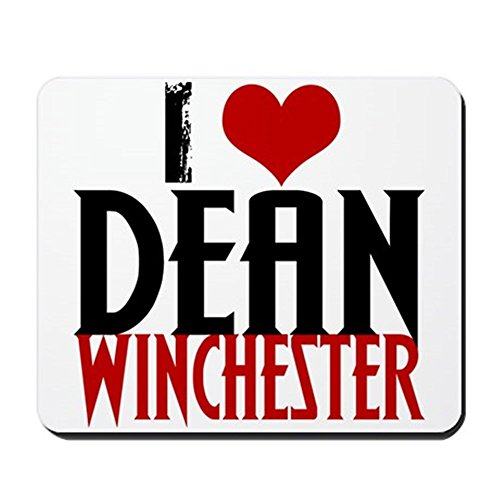 cafepress-i-love-dean-winchester-mousepad-non-slip-rubber-mousepad-gaming-mouse-pad