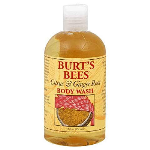Burt's Bees Citrus & Ginger Root Body Wash - 12