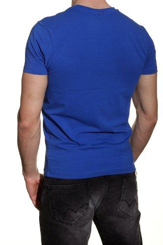 Redskins Herren T-Shirt Blau - Blau