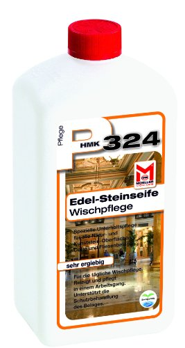 Möller Stone Care HMK P324 Edel-Steinseife – Sparpackung 3 x 1 Liter Flasche