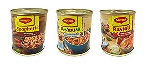 Tanner 0080.1 - Latas de comida Maggi importado de Alemania
