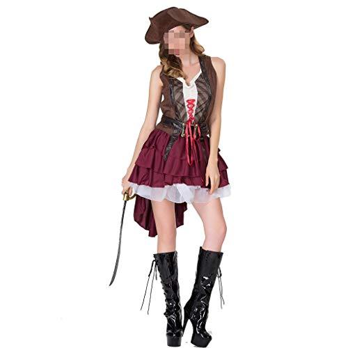 Boots Der Affe Halloween Kostüm - Neue Damen Halloween Kostüme Rollenspiele Piratin