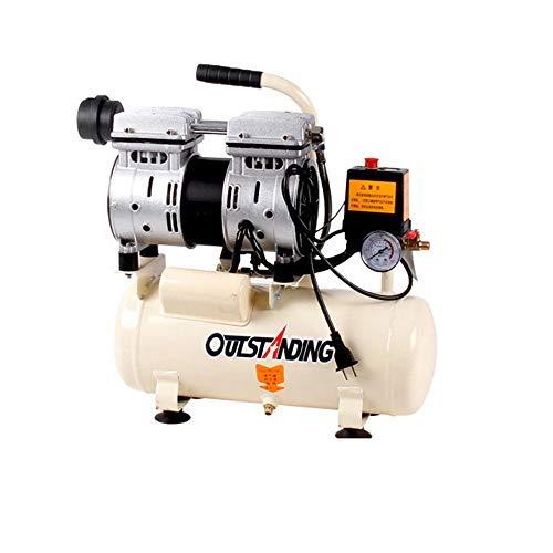 Luftkompressor leise Luftpumpe Ölfreier Holzverarbeitungskompressor 750w-30L