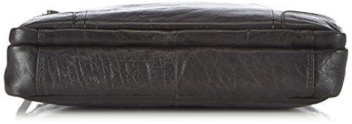 Spikes & Sparrow Bronco R-140 BR 70 Unisex-Erwachsene Henkeltaschen 36x28x9 cm (B x H x T) Schwarz (Black)