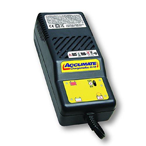 Preisvergleich Produktbild TecMate AccuMate TM06, 4-stufiges 6V/12V Batterielade- und Wartungsgerät
