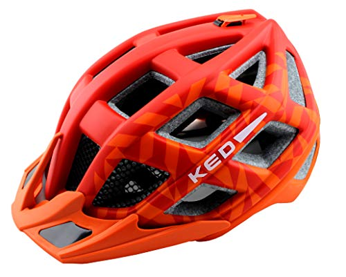 K-E-D Fahrradhelm Crom (M, Red Orange Matt)