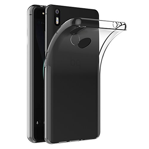 BQ Aquaris X / X Pro Hülle, AICEK Transparent Silikon Schutzhülle für BQ Aquaris X Case Crystal Clear Durchsichtige TPU Bumper BQ Aquaris X Pro Handyhülle