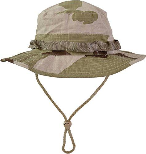 Hat US Buschhut Safari Hut S-XL Farbe Wüstentarn Größe L ()