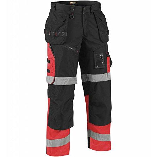 Preisvergleich Produktbild Blakläder 150818609955C54X1500High Schrauben Hose Klasse 1, Gr. C54Schwarz/Rot