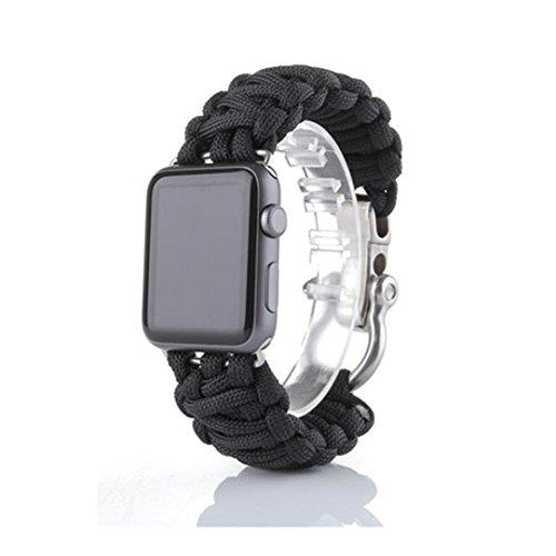 apple-watch-correaculater-pulsera-de-supervivencia-de-cuerda-de-nylon-banda-para-iwatch-42mm