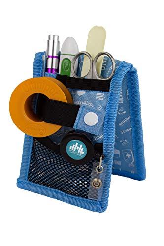 MINIKEEN\'S | Organizador de enfermería | Color: estampado azul | Mobiclinic