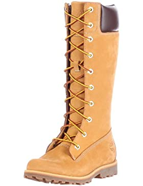 Timberland Asphalt Trail FTK_Classic Tall Lace Up with Side Zip Mädchen Combat Boots