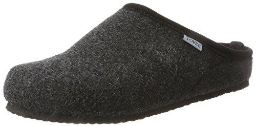 Tofee Herren 74-BOR1 Pantoffeln, Schwarz (anthrazit), 40 EU