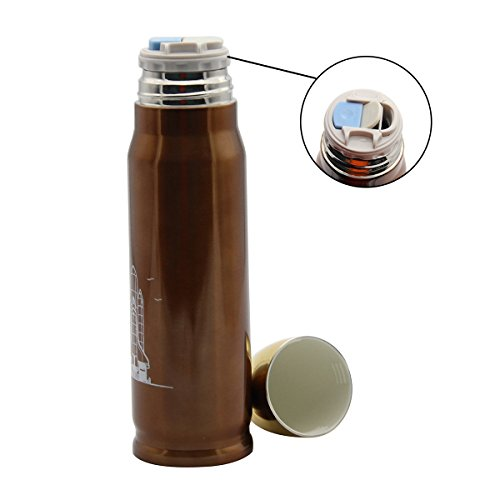 Latinaric 500 ml bouteille thermos en acier inoxydable - Thermos pour cafe ...
