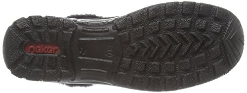 Rieker - L7163-00, Stivali da donna Nero (Black)