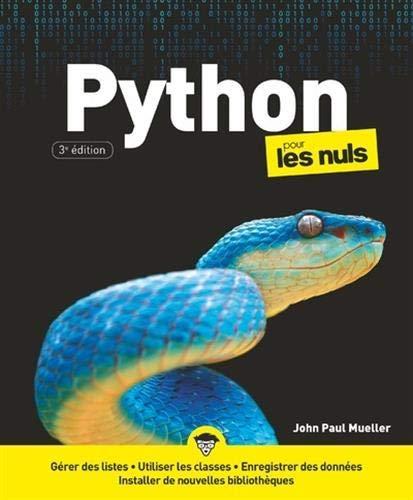 Python pour les Nuls, 3e éd.