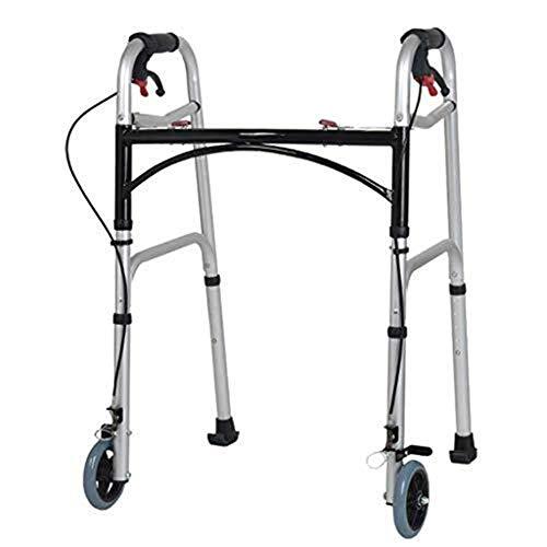 YDHYYDQCFJL Old Man Walking Walker - Rollator-Gehhilfen Für Senioren Mit Sitz- Und...