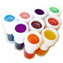 colores de alimentos de gel en súper set de 9 unidades
