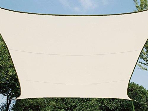 Perel GSS4320CR Sonnensegel - Rechteckig, Creme, 200 x 300 x 0,2 cm
