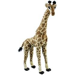 Erich Bohl nbsp;60428-Gigante jirafa de peluche, 85cm