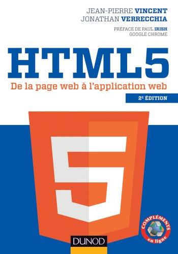 HTML5 - 2e éd. - De la page web à l&#3...