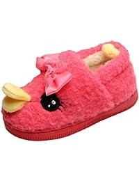 SK Studio Ragazza Pantofole Peluche Coniglietto Invernali Antiscivolo  Animali Pantofole Scarpe Per Casa 180091a2192