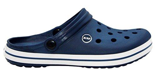 A&H Footwear ,  Herren Clogs Navy