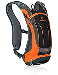Lixada 8L Sac à dos de Vélo + 2L Poche à eau Hydratation sac pour Randonnée Camping Cyclisme Resistant à eau