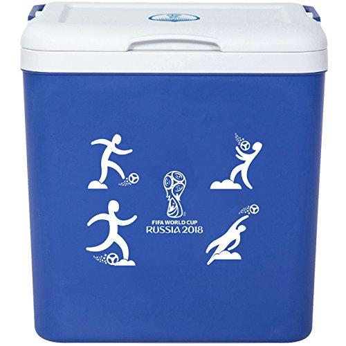 FIFA World cup Russia 2018 FWCCX01 Glacière, Bleu, Blanc