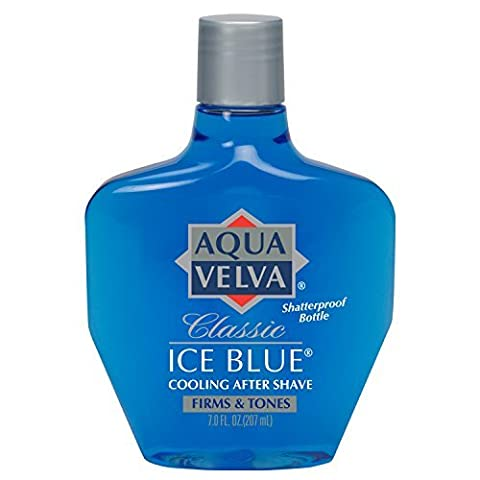 Aqua Velva Cooling After Shave Classic Ice Blue 198g by