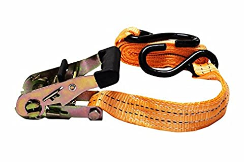 ✔ IMAKAR® Retractable Ratchet Tie Down Straps 5 m x 38 mm. Can Hold up to 1000kg