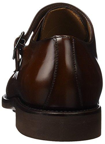 GEORGES Herren 3077 Buckle Schuhe Braun (Cuero)