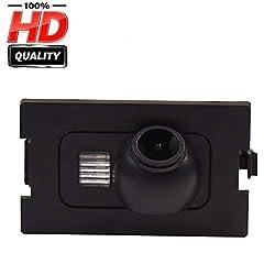 HD 1280x720p Farbkamera Wasserdicht Rückfahrkamera kennzeichenbeleuchtung Kamera KFZ Rückfahrsystem mit Einparkhilfe Nachtsicht für Land Rover Freelander 2 Discovery 3 LR3 Discovery 4 LR4 Range Rover