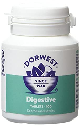 Dorwest Herbs Digestive Supplement Tablets for Dogs and Cats 100