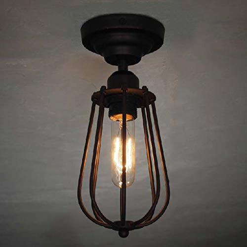Lámpara de techo Led Lámpara de techo de hierro forjado de una...