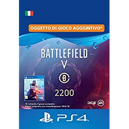 Battlefield V – 2.200 Valuta Battlefield – PS4 Download Code – IT Account DLC | PS4 Download Code – IT Account