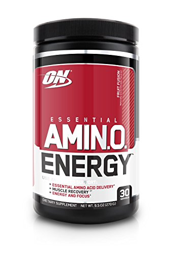 Optimum Nutrition Amino Energy Diet Supplement, 270 g, Fruit Fusion