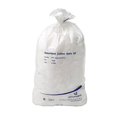 BP Saugfähige Wattebällchen   100% Pure Baumwolle   Sanft zur Haut
