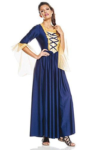 e Dame mittelalterlichen (Dame Moyen Age Kostüme)