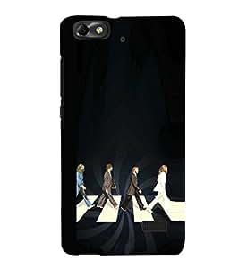EPICCASE Beatles Conspiracy Mobile Back Case Cover For Huawei Honor 4C (Designer Case)
