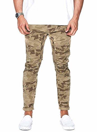 Pantaloni Nena and Pasadena Avalanche Camo Verde