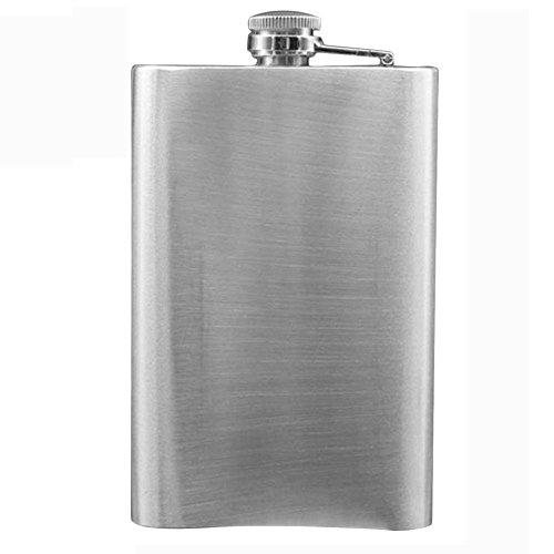 Minkoll Weinflasche Flaschen, Edelstahl 10oz Speichern Vodka Whiskey Alkohol Pocket Weinflasche