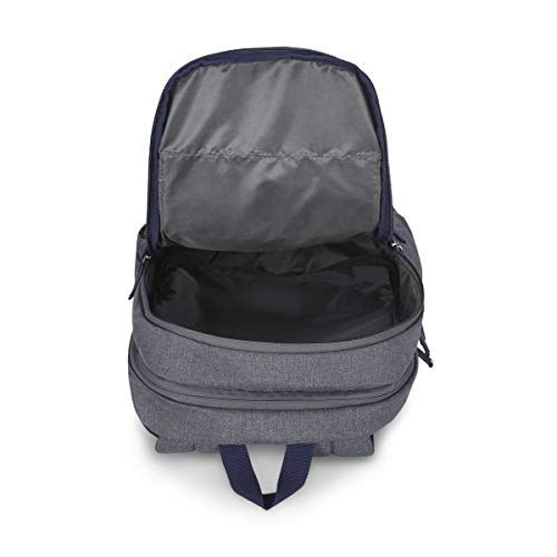 Best tommy hilfiger backpack in India 2020 Tommy Hilfiger Xylo 30 Ltrs Grey Laptop Backpack (TH/XYLOLAP07) Image 6