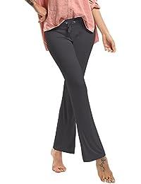 Femme Pantalon de Yoga Danse du Ventre Fitness Pants Sport c6f90eb6345